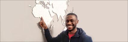 David, ingeniero de Nigeria.